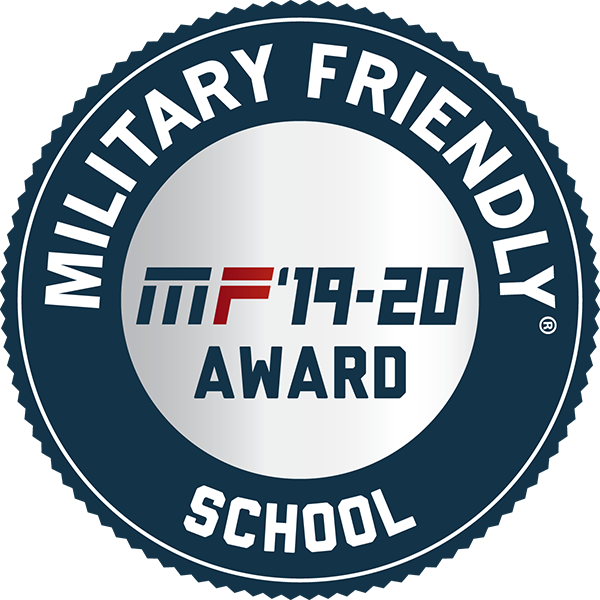 Military Friendly School 2019-20 Designation 600x600
