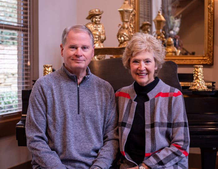 President and Mrs. Stephenson